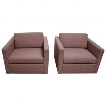 Pair Of Jack Cartwright Cube Chairs