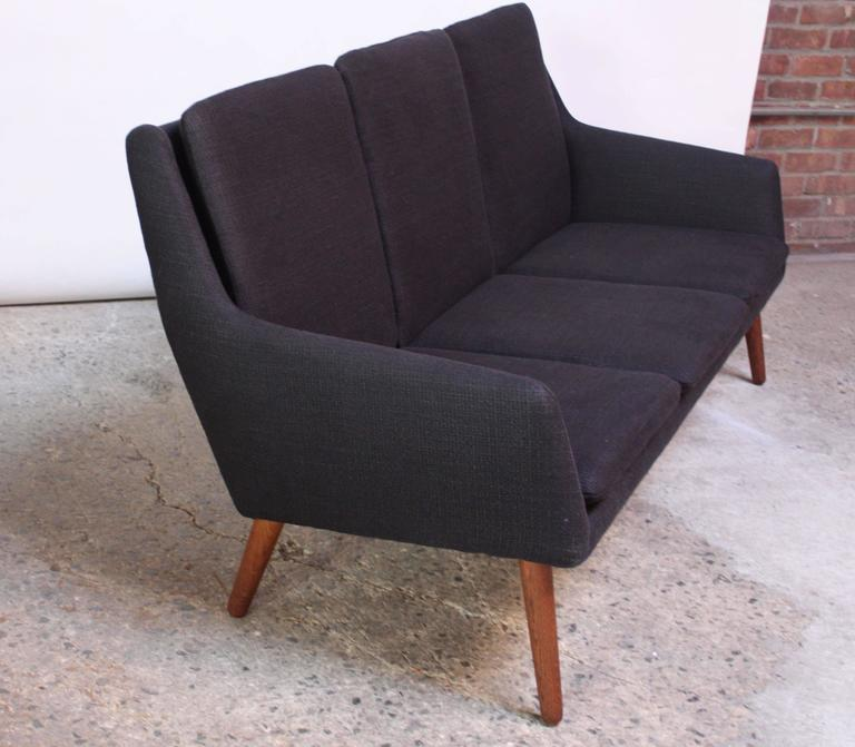 Danish Modern Sofa by Erik Ostermann and H. Høpner Petersen ...