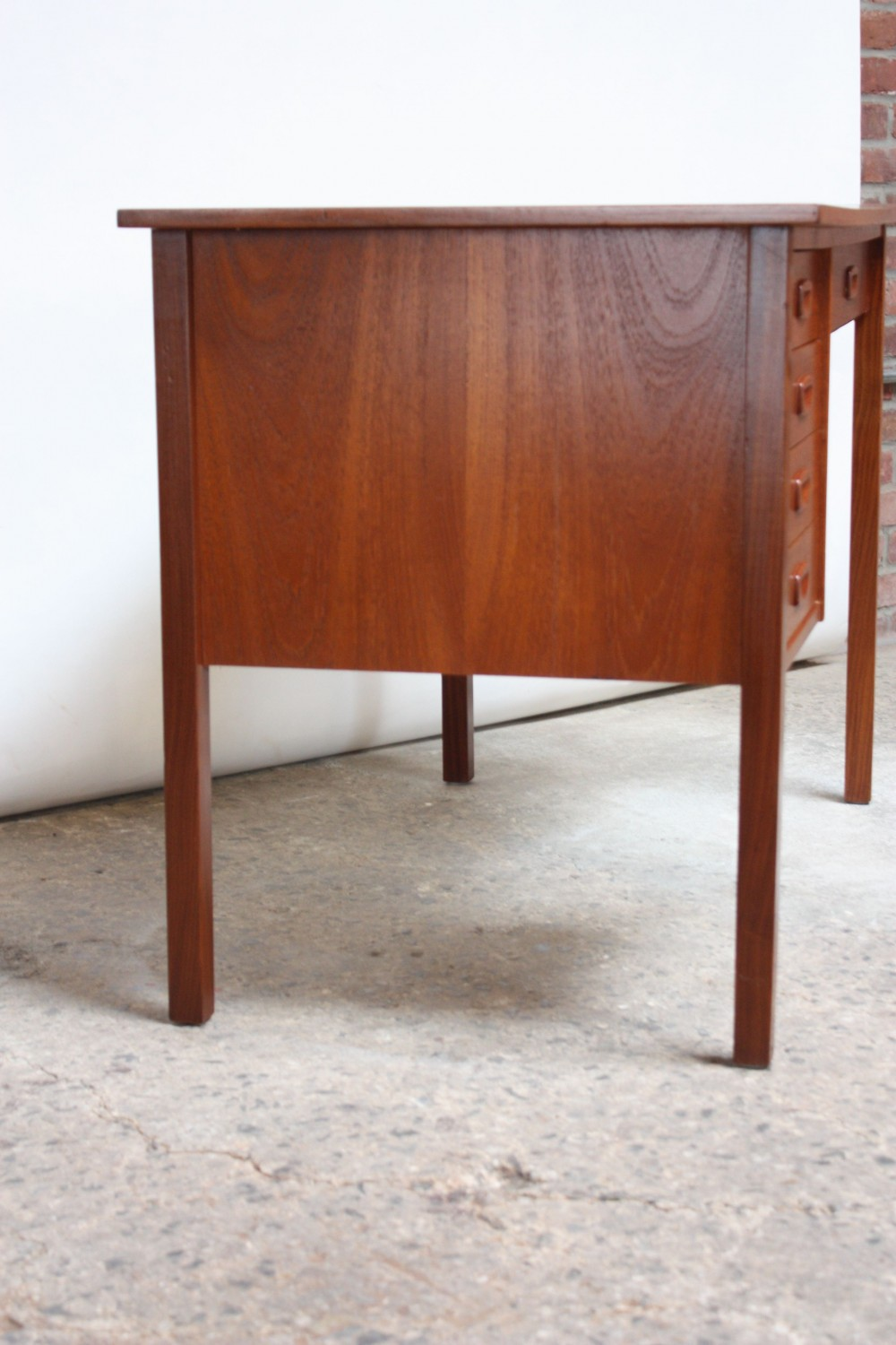 Home Desks Danish Modern Teak Student Desk