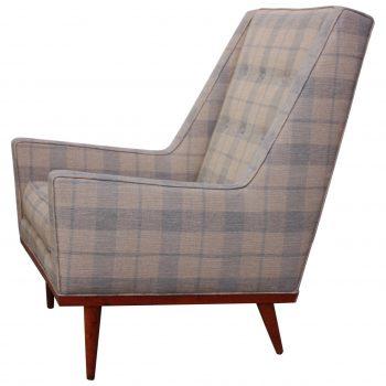 Superbe Milo Baughman For James Inc. U0027Kingu0027 Chair