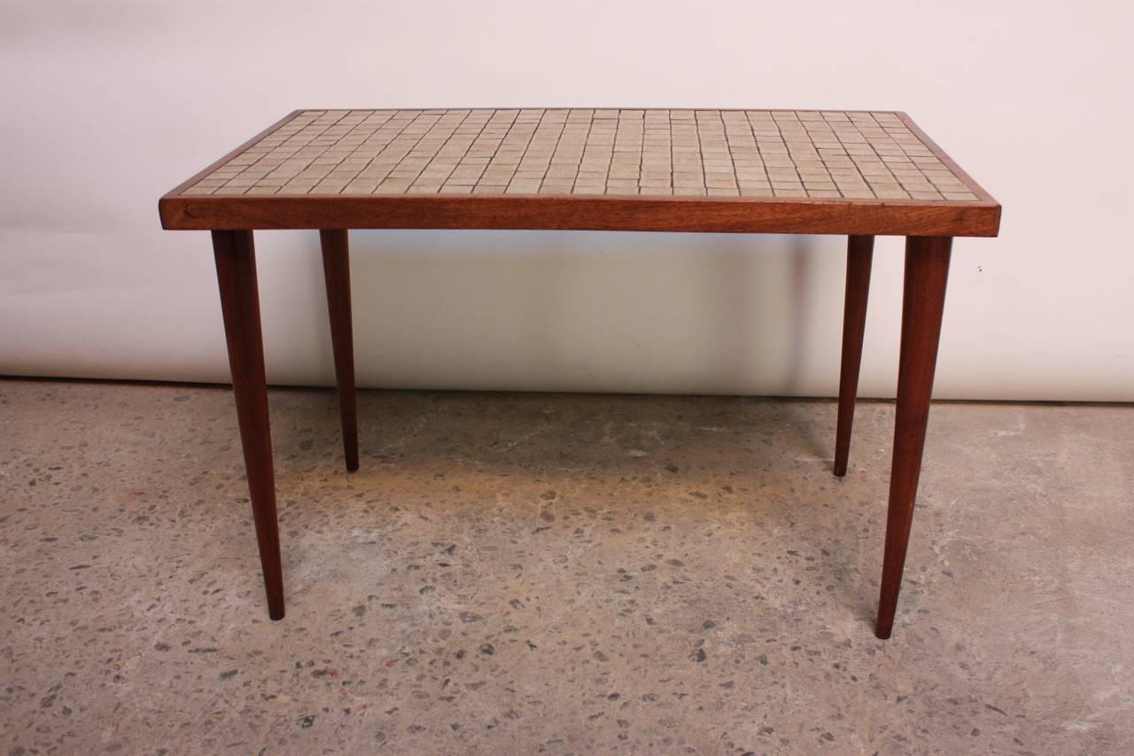 Home Tables Martz For Marshall Studios Tile Top Table