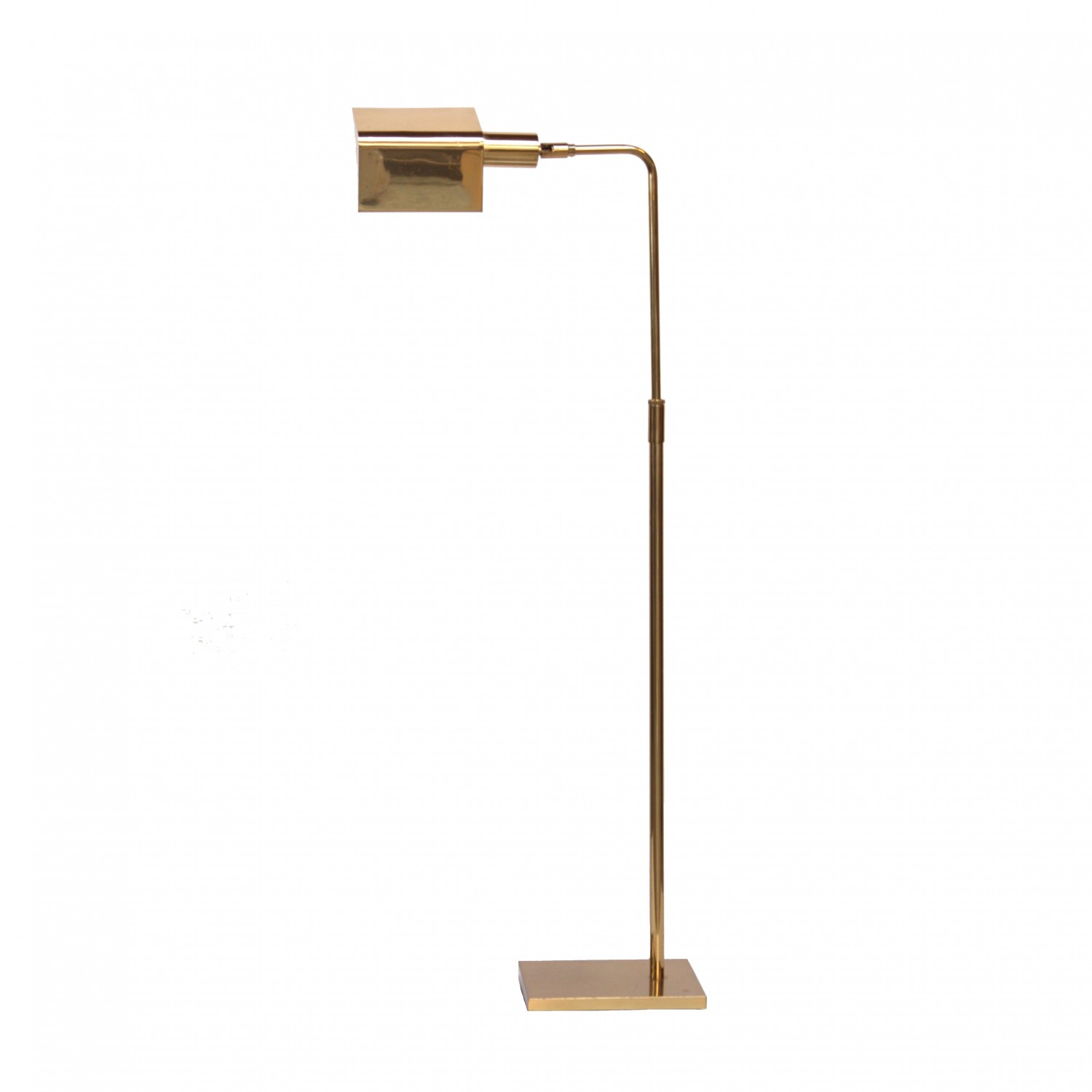 Koch And Lowy Brass Pharmacy Floor Lamp Jarontiques