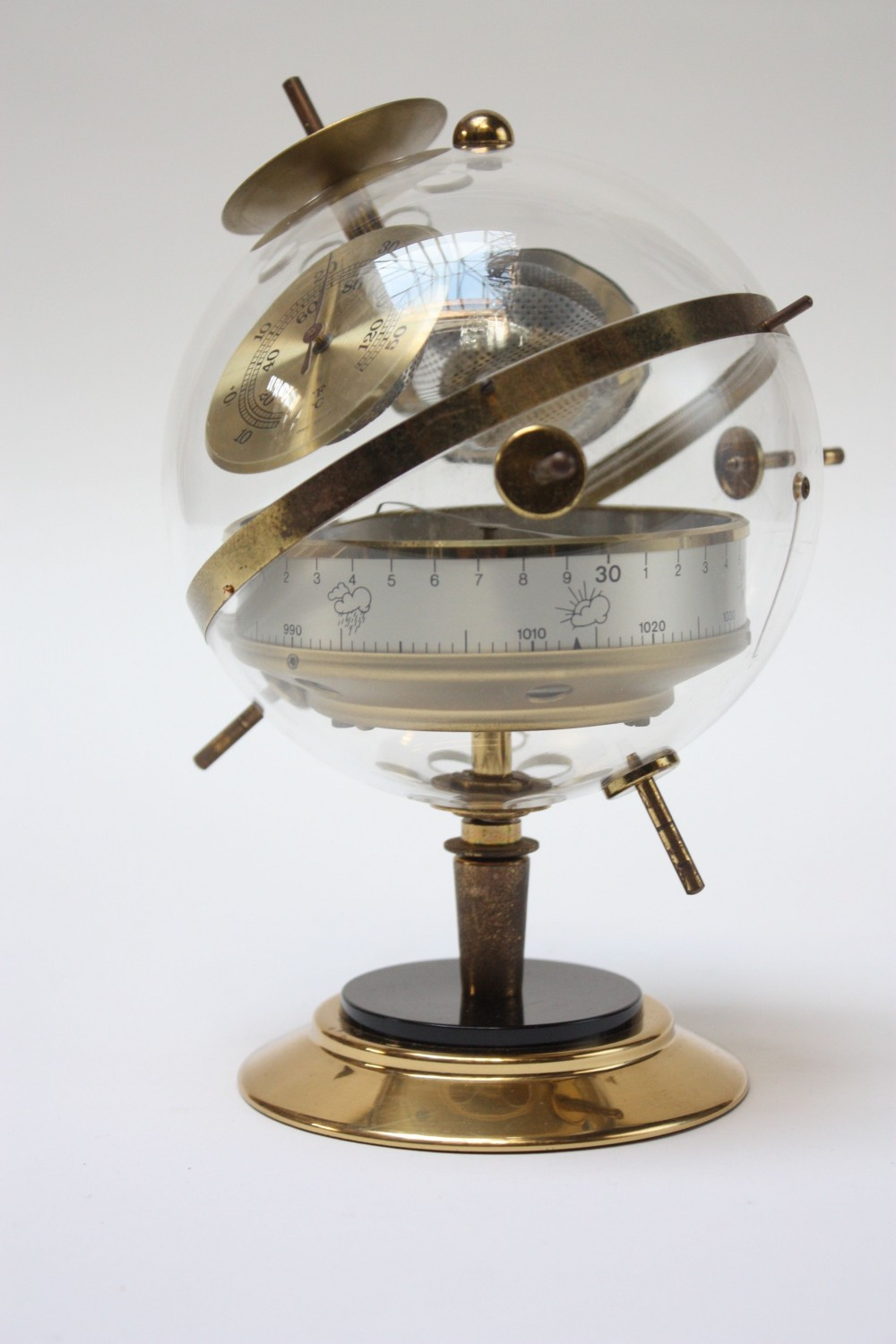 1960s West German Huger Sputnik Barometer Weather